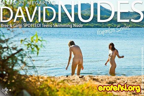 "Bree & Cami ""Teens Swimming Nude"""