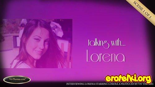 "Lorena A ""Interviewing Lorena"""