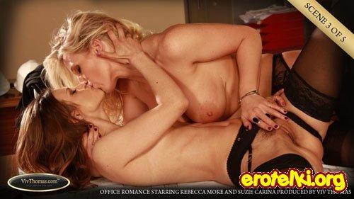 """Rebecca More & Suzie Carina """"Office Romance"""""""