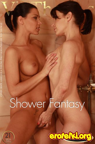 "Cindy Hope & Leila Young ""Shower Fantasy"""