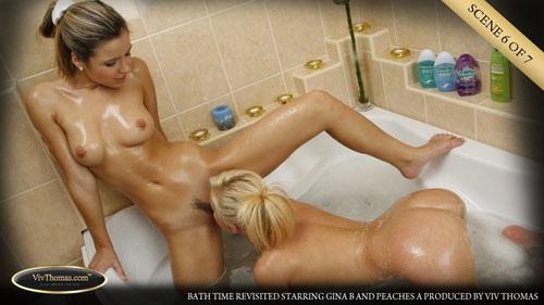"Gina B & Peaches A ""Bath Time Revisited"""