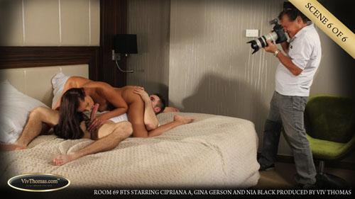 """Cipriana A, Gina Gerson & Nia Black """"Room 69 BTS"""""""