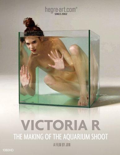 """Victoria R """"The Making Of The Aquarium Shoot"""""""
