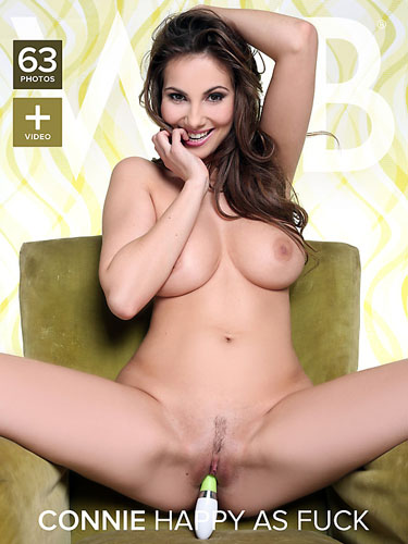 "Connie Carter ""Happy As Fuck"""