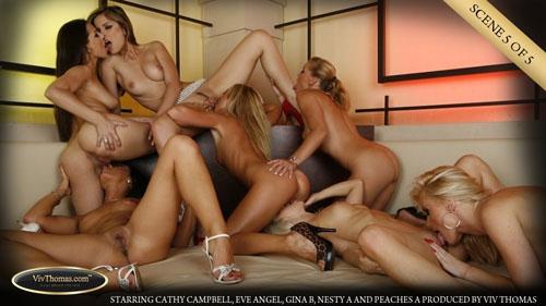 "Cathy Campbell, Eve Angel, Gina B, Nesty A & Peaches A ""Gina, Peaches, Eve, Nesty, Cathy, Cassye and Dorina"""