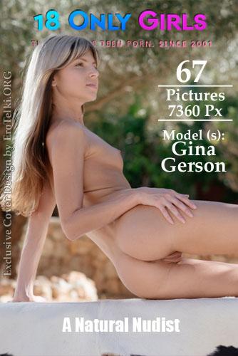 "Gina Gerson ""A Natural Nudist"""