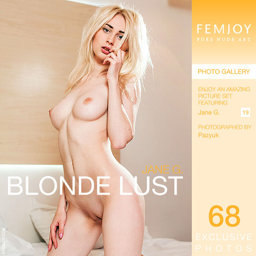 "Jane G ""Blonde Lust"""
