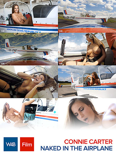 "Connie Carter ""Naked in the Airplane"""