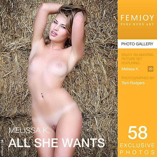 "Melissa K ""All She Wants"""