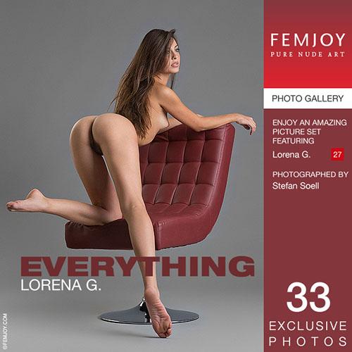 """Lorena G """"Everything"""""""