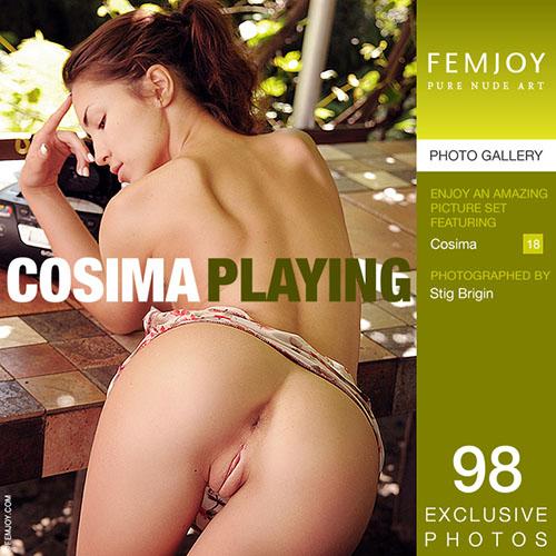 """Cosima """"Playing"""""""