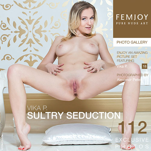 "Vika P ""Sultry Seduction"""