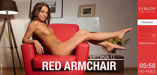 "Medina U ""Red Armchair"""
