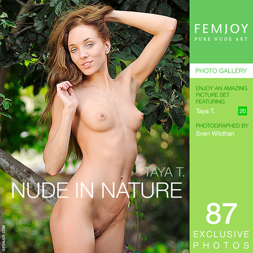 "Taya T ""Nude In Nature"""