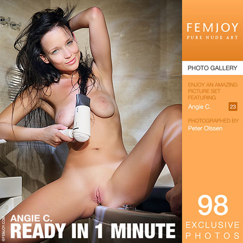 """Angie C """"Ready In 1 Minute"""""""