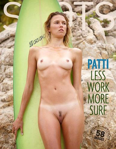 "Patti ""Less Work More Surf"""