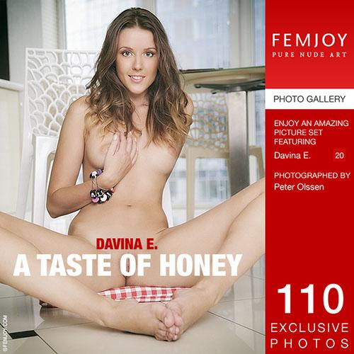 """Davina E """"A Taste Of Honey"""""""