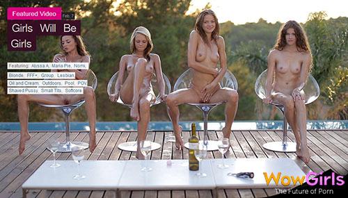 """Alyssa A, Maria Pie, Nomi & Vanessa """"Girls Will Be Girls"""""""