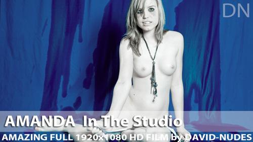 """Amanda """"In the Studio"""""""
