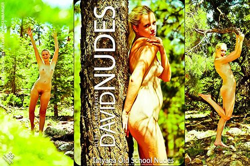 """Tatyana """"Old School Nudes"""""""