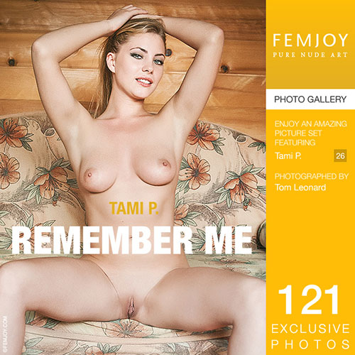 """Tami P """"Remember Me"""""""
