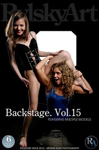 "Multiple Models ""Backstage. Vol.15"""