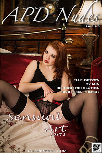 "Elle Brown ""Sensual Art I"""