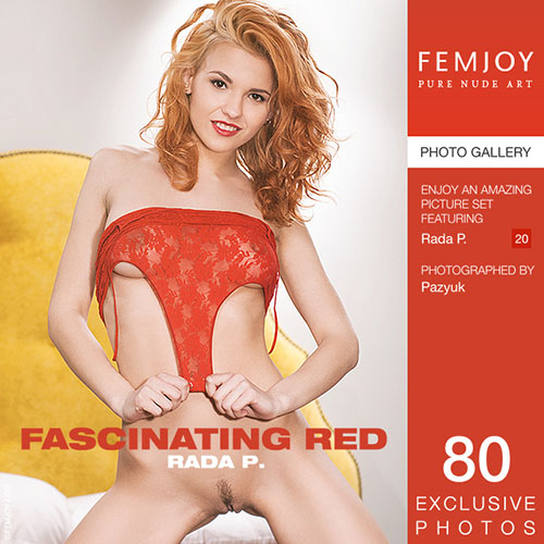 """Rada P """"Fascinating Red"""""""