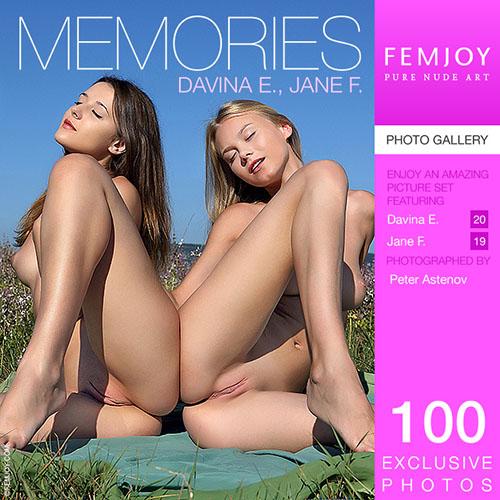 """Davina E & Jane F """"Memories"""""""