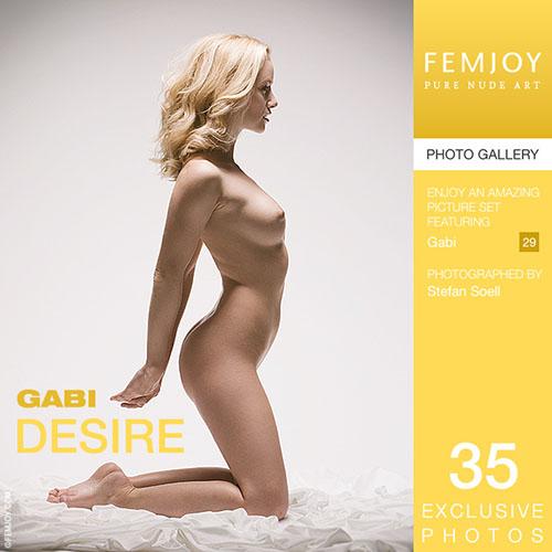 """Gabi """"Desire"""""""