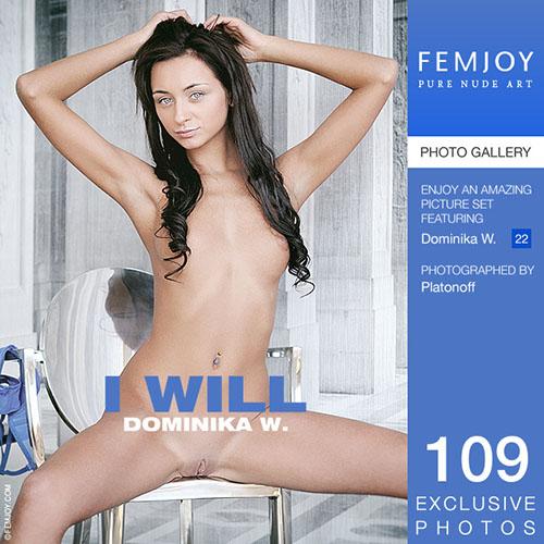 """Dominika W """"I Will"""""""