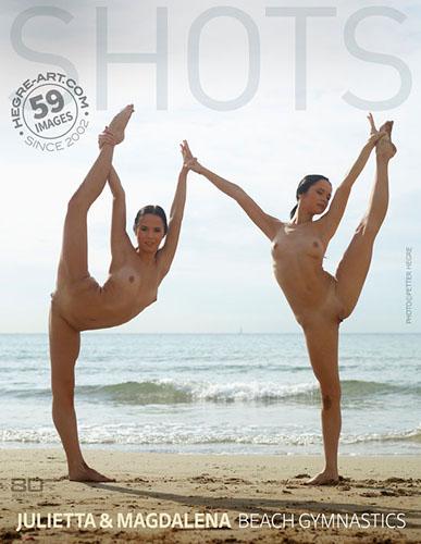 "Julietta & Magdalena ""Beach Gymnastics"""