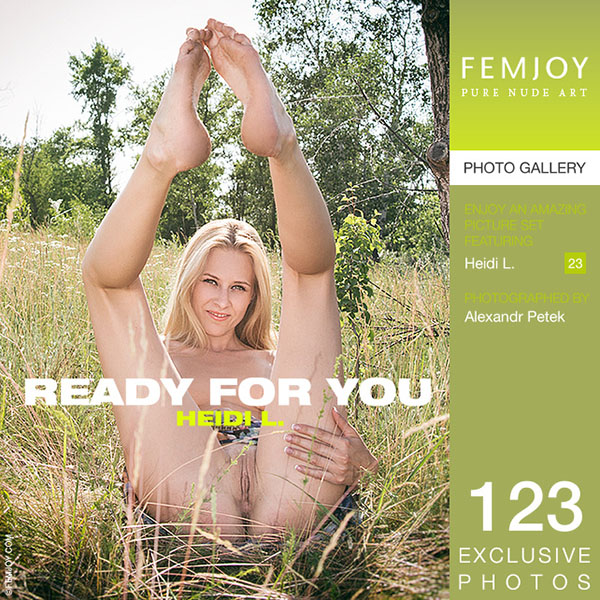 """Heidi L """"Ready For You"""""""