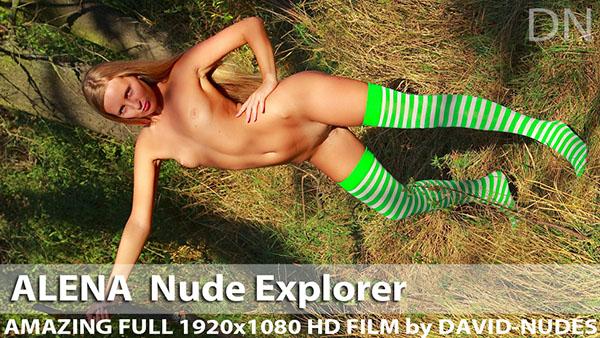 """Alena """"Nude Explorer"""""""