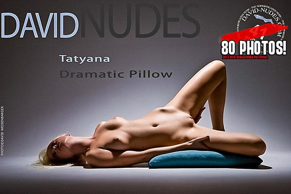 """Tatyana """"Dramatic Pillow"""""""