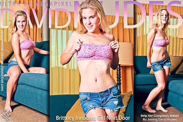 """Brittney """"Innocent Girl Next Door"""""""