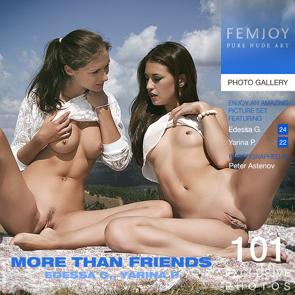 "Edessa G & Yarina P ""More Than Friends"""