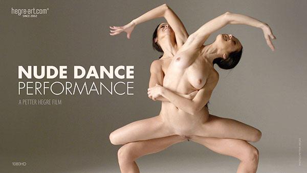 "Julietta & Magdalena ""Nude Dance Performance"""