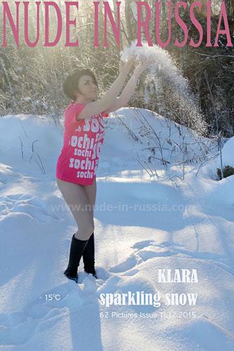 """Klara """"Sparkling Snow"""""""