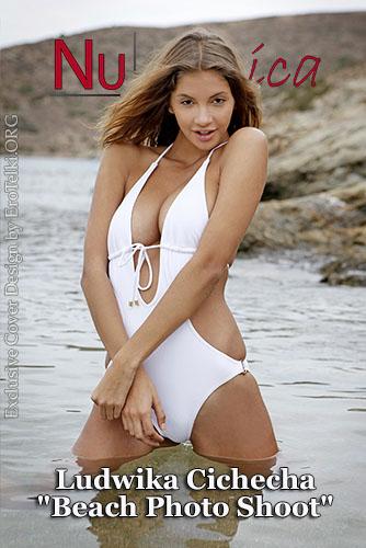 "Ludwika Cichecha ""Beach Photo Shoot"""
