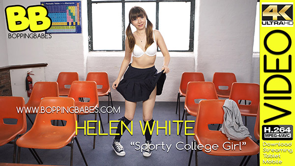 Helen White 揝porty College Girl? title=