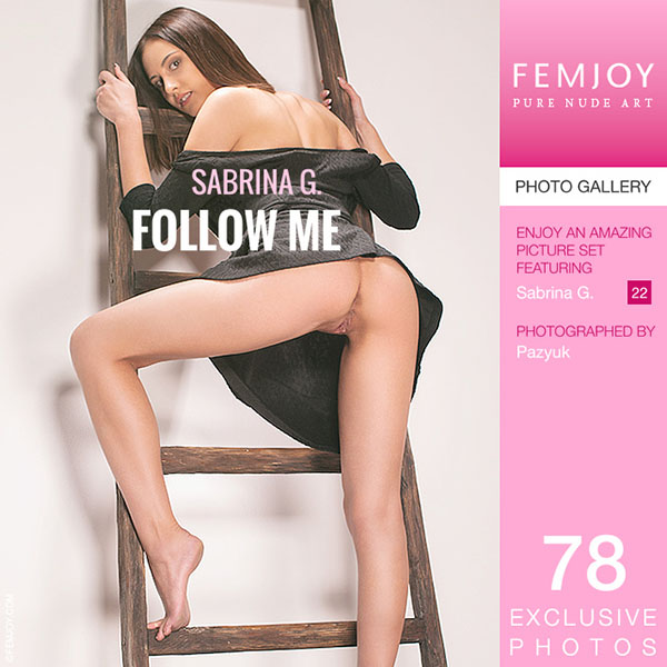 "Sabrina G ""Follow Me"" Photo Set"