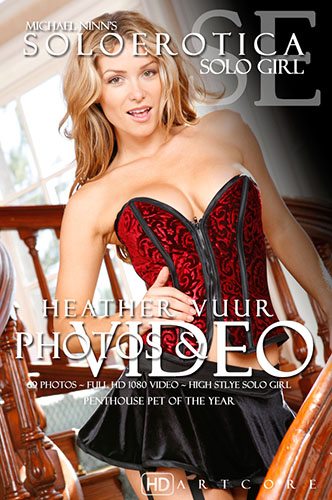 "Heather Vandeven ""Meet Heather - Soloerotica"""