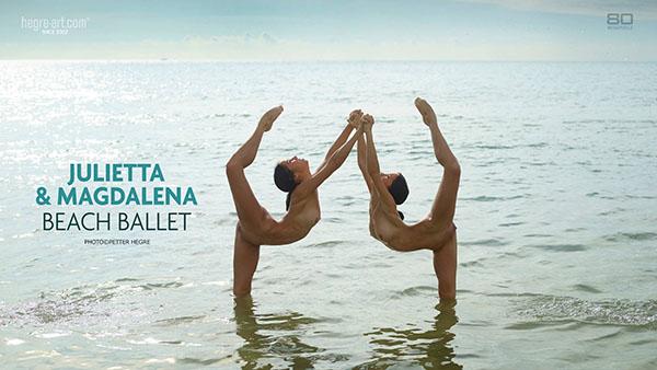"""Julietta & Magdalena """"Beach Ballet"""""""