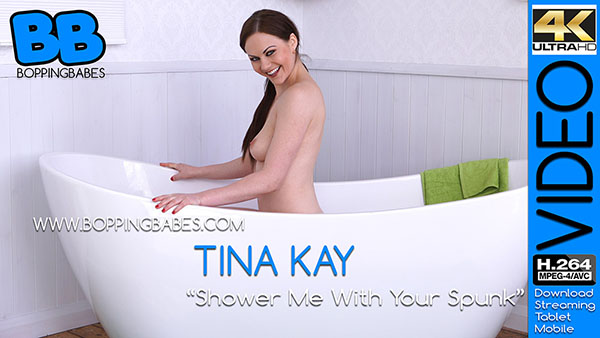 Tina Kay 揝hower Me With Your Spunk? title=