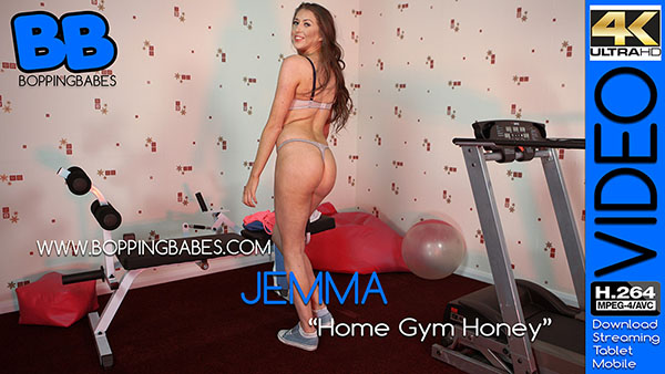 Jemma 揌ome Gym Honey? title=