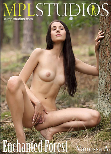 """MPLStudios 2016-02-11 Vanessa A in """"Enchanted Forest"""" by Emilian"""