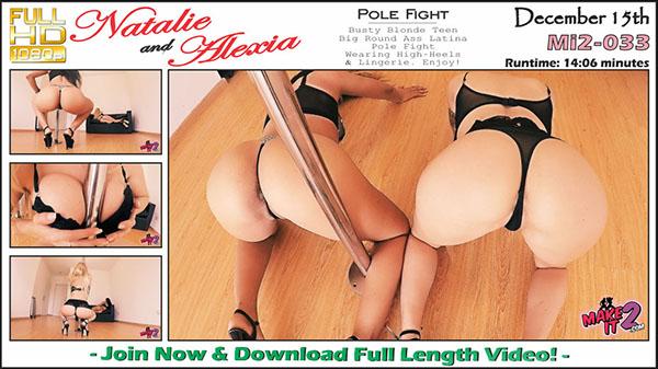 """Mi2-033 Natalie & Alexia """"Pole Fight"""""""