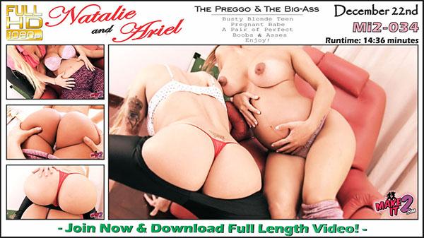 "Mi2-034 Natalie & Ariel ""The Preggo & The Big Ass"""