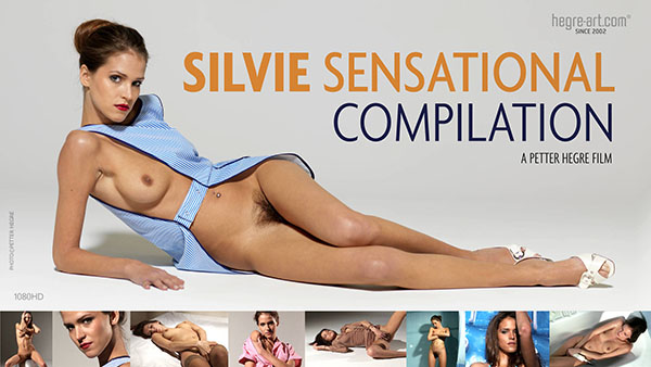"""Silvie in """"Sensational Compilation"""" by Petter Hegre"""